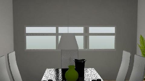 My Room - Dining Room  - by Regalitojj
