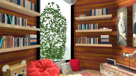 Woody Reading Room - by yopaaretta