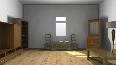 Mom Moms Room - Rustic - Office  - by scullydo