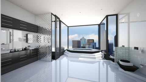 Modern and Urban Bathroom - Modern - Bathroom  - by Tuubz