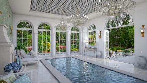 Pool Pavilion 8 - Garden  - by Fofinha