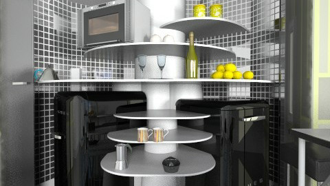 Test Revolving kitchen - Kitchen  - by liling