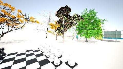 wielki ogrod - Garden - by KarolXD