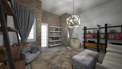 Cozy Escape - Classic - Office  - by qpurpl3pandas