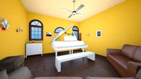 Piano room - Living room - by Ttheboss