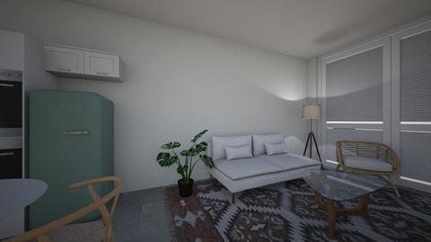 shalev - Living room  - by coralstauber