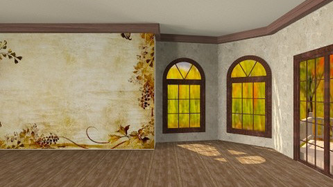 fall cottage - Classic - Office  - by Shelley0514