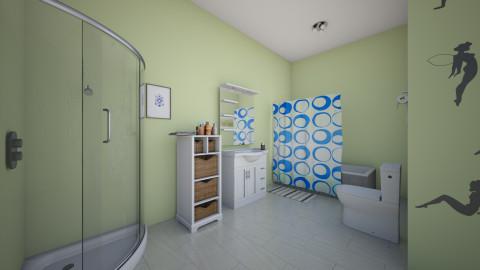 bru - Bathroom - by Emelyn Cristal Rosario