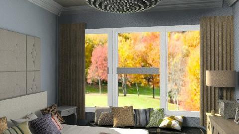Contemporary -Romantic - Bedroom - by aveneym