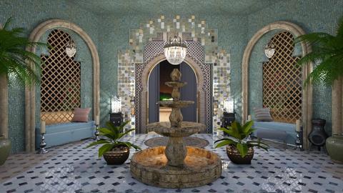 Small inner courtyard - by ZsuzsannaCs
