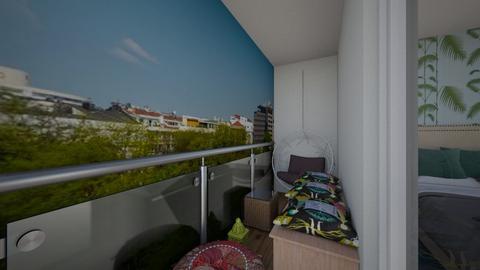 My balcony - Modern - by Adelinas56