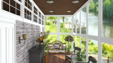 BedroomHallway  - Country - Hallway  - by jackiefruit