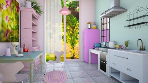 kitchen - by BibiMarton