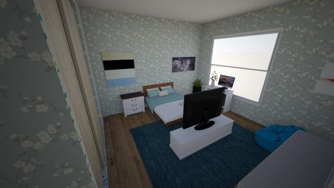 Emoana3652 room - Modern - Bedroom  - by Emoana3652