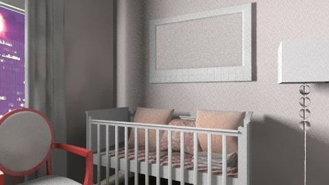 baby pink - Kids room  - by naat29