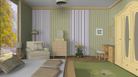 SB2 - Classic - Bedroom  - by milyca8