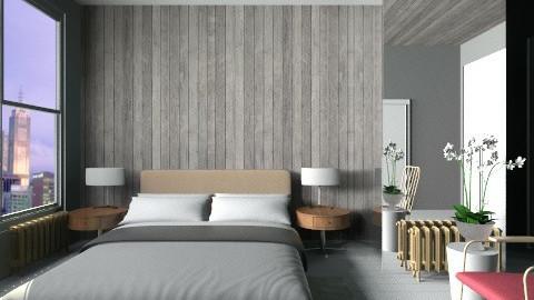Cityscape Sleep - Modern - Bedroom  - by 3rdfloor