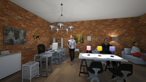 Home office - Glamour - Office  - by admincb