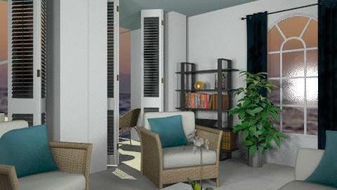 beachhouse - Classic - Living room  - by boccadirosa