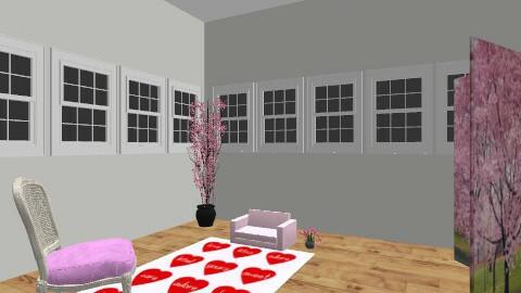 Genevieve Metzger - Vintage - Living room  - by pjgenmetzger
