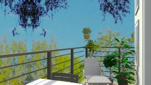 Balcony_2 - Minimal - Garden  - by bfelldc