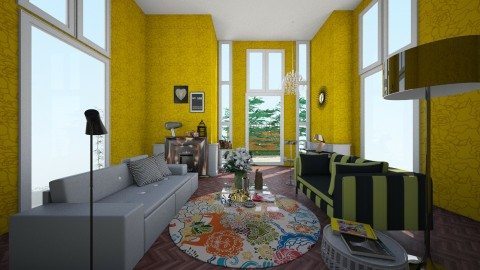 Country house: living room - Modern - Living room  - by ateliertally