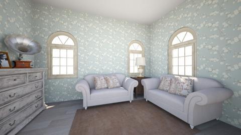 Grandmas_House - Vintage - Living room  - by Honey Cove