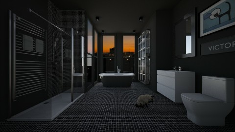 Personal Urbano  - Bathroom  - by Sanare Sousa