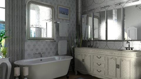 Castle project _The Regal en suite   - Classic - Bathroom  - by auntiehelen