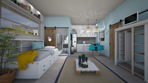 Student Dorm - Bedroom  - by susilva