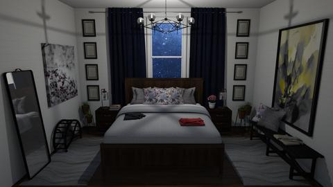 Wood At Night Bedroom - Bedroom  - by Cap98