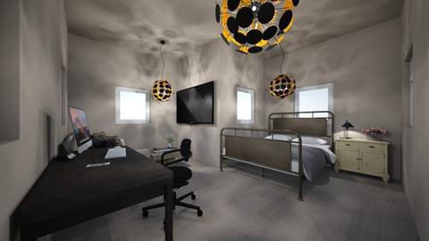 een slaapkamer - Rustic - Bedroom  - by Kootje