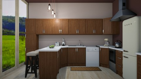 Lets Cook Something - Rustic - Kitchen  - by millerfam