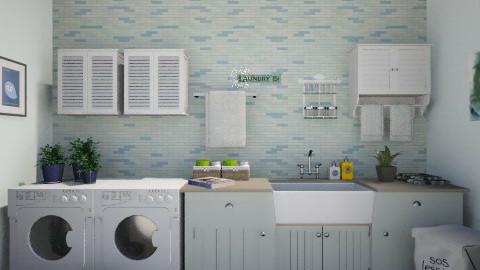 laundry room - by lucyjalloh
