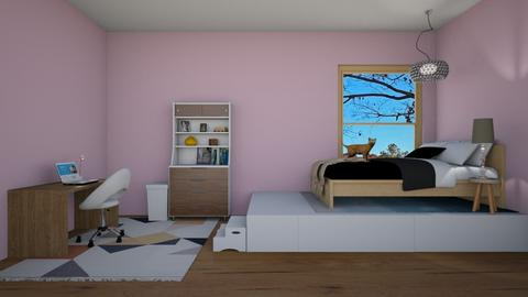My new dream room - Modern - Bedroom  - by 29catsRcool
