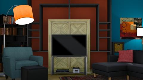 Country Tv Room - Country - Living room  - by XiraFizade