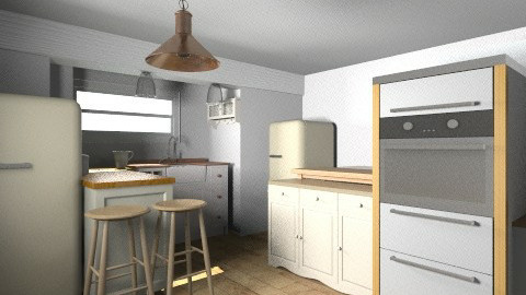 kitchen built in cookrs - Kitchen - by saelj