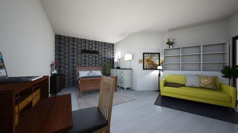 My First Project - Bedroom  - by Shauna Hetemeyer