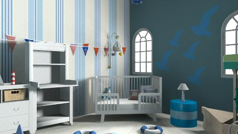 A nautical nursery - Classic - Kids room  - by lottie21
