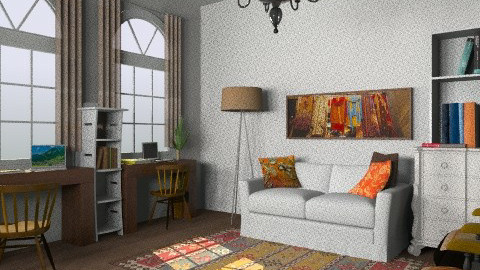 050412 - Eclectic - Living room  - by Elena Green