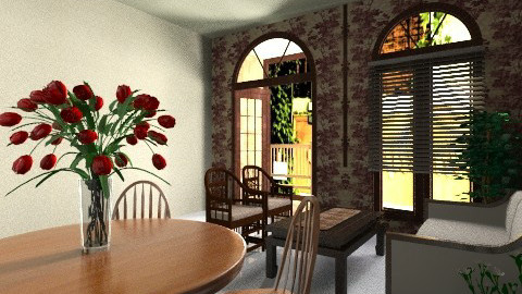 lil anc 50s - Retro - Living room  - by Veny Mully