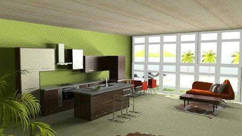 worcester1 - Eclectic - Kitchen  - by carolhardtke
