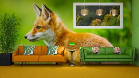 Fox - Living room  - by LaylaaaarrrJF