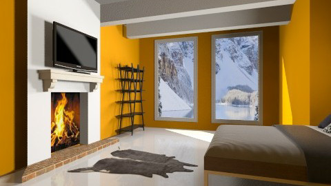 Lodge - Bedroom - by so_lejit135