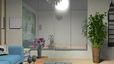 womanroom - Glamour - Living room  - by nindzser