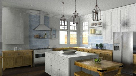 Random Spaces - Kitchen/Living Area Kitchen Closeup - Classic - Kitchen - by LizyD