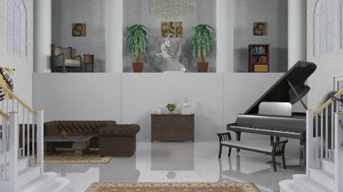 Great Room - Glamour - Living room - by deepthinker
