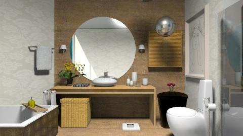 Bath - Rustic - Bathroom  - by iamanna1234