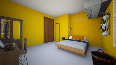 New room - Retro - Bedroom  - by caterina17