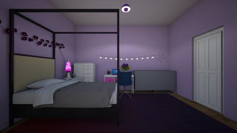 PURPLE ROOM - Bedroom  - by IlI805